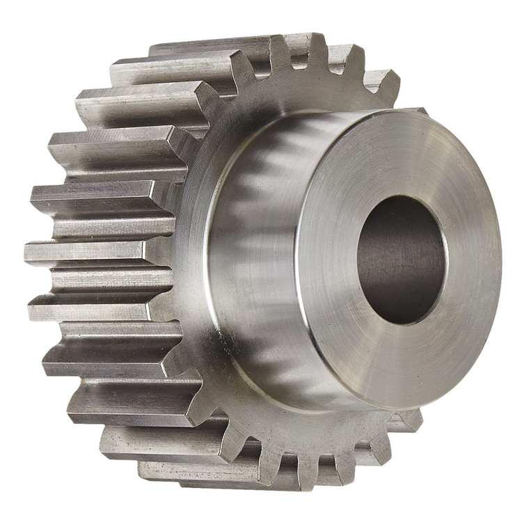 Customized high precision steel straight toothed spur gear