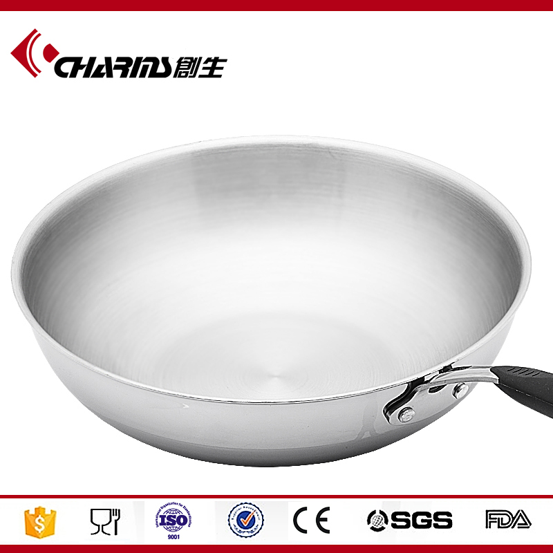 2016 Chuangsheng Professional tri ply stainless steel cookware with low price