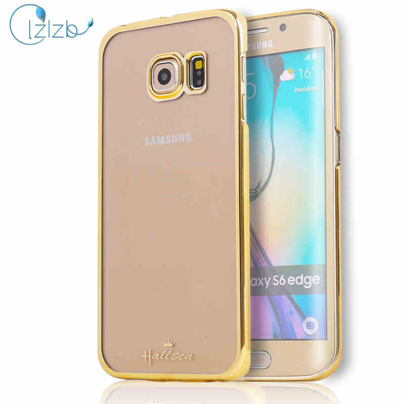 LZB Hot selling luxury back cover for samsung galaxy s6 edge hard case