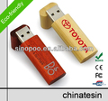 Free Laser Engraving Logo Classical Wooden USB Flash Drive