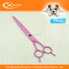 Professional Coating Titanium Pink Pet Grooming Scissors