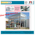Glass Curtain Wall/ Spider Wall/ Curtain Wall for skylights