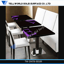 Factory supply high quality extending dinning table
