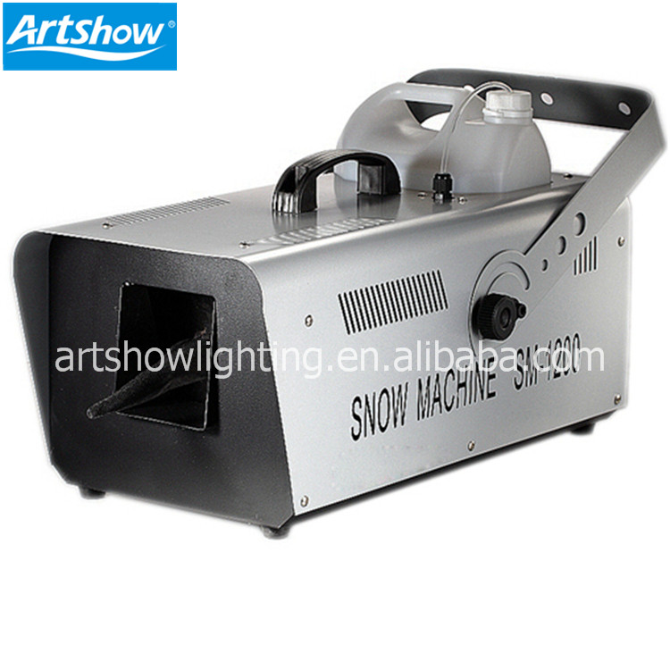 snow machine 1200w Remote wireless control snow making machine professional stage effect disco wedding Christmas DJ equipment