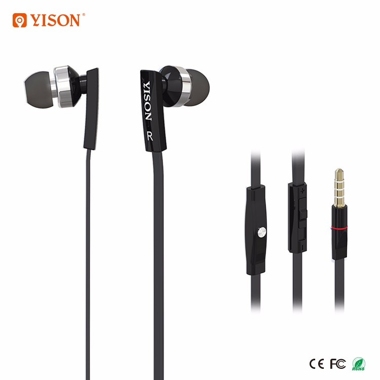 YISON CX350 Original Branded Factory Price Earphones Plastic Ear Plugs for Christmas Gift