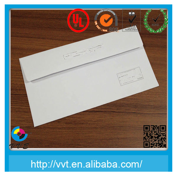 Best Price White Plain Paper Envelope