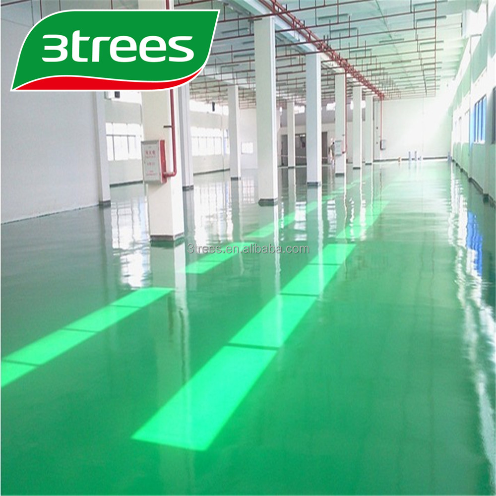 3TREES Epoxy Floor Paint Floor Coating with Good Quality for industrial Use