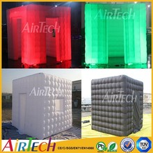 Photo booth with LED lighting inflatable portable photo booth for wholesale