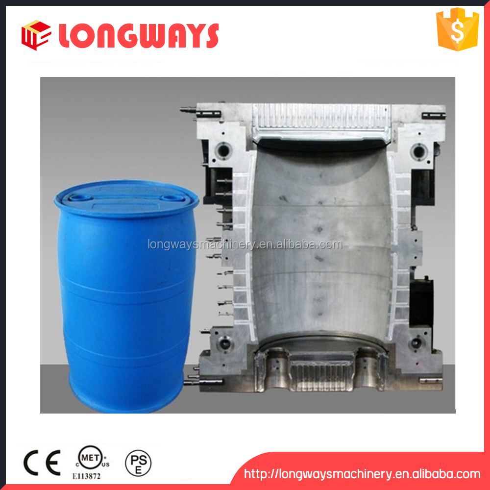 customize chemical 200l drum mould / plastic chemical drum mold maker