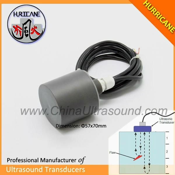 Digital ultrasonic weight measuring sensor