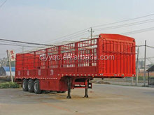 China van semi trailer truck and dog trailers for sale
