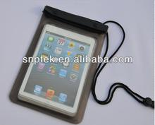 "pvc waterproof bag case waterproof pouch dry bag for ipad mini 7"" Tablet PC"
