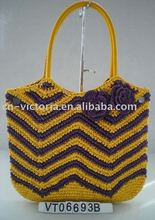 Paper Crochet Straw Bag