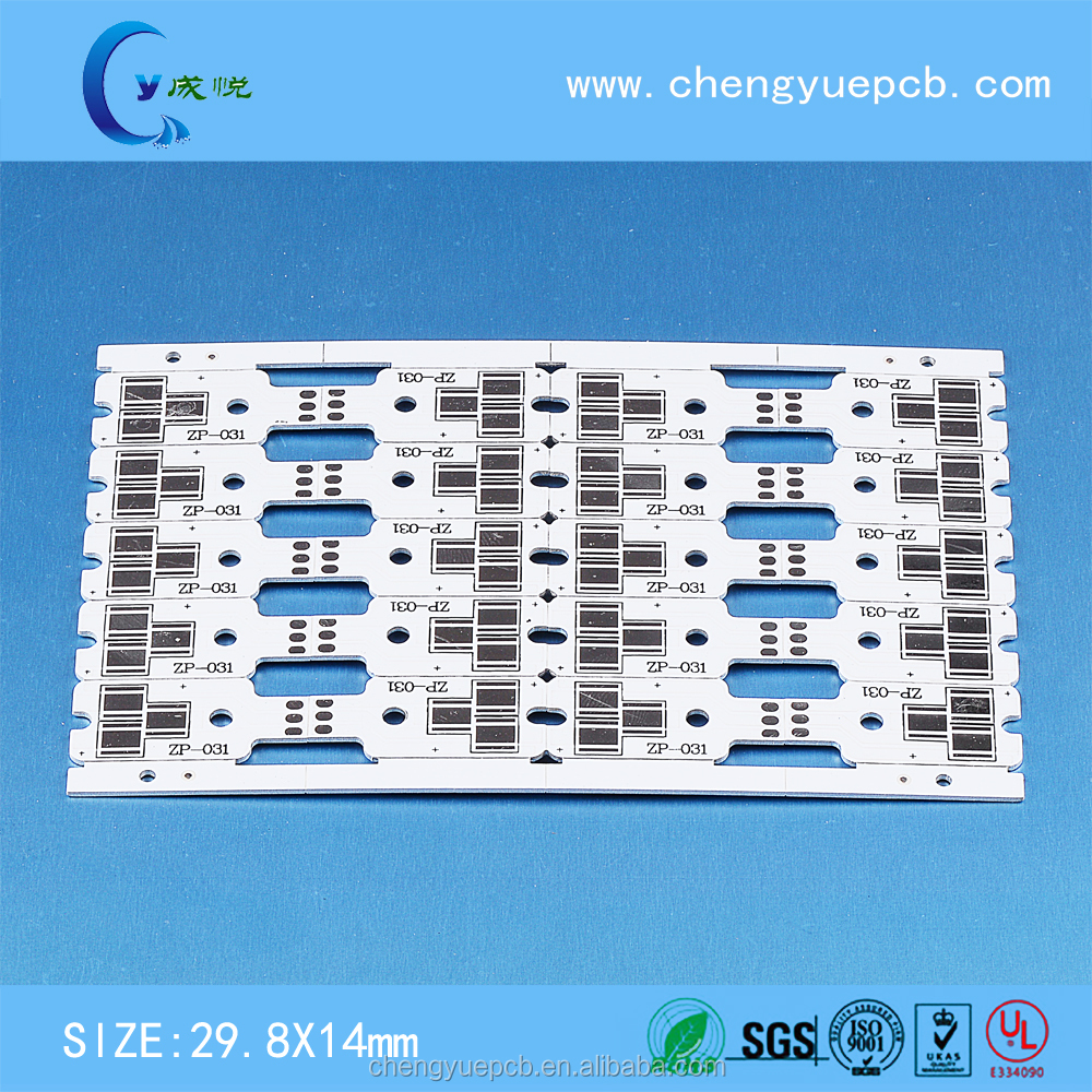 China MCPCB manufactory 1m long side aluminum printed circuit board for LED tube light