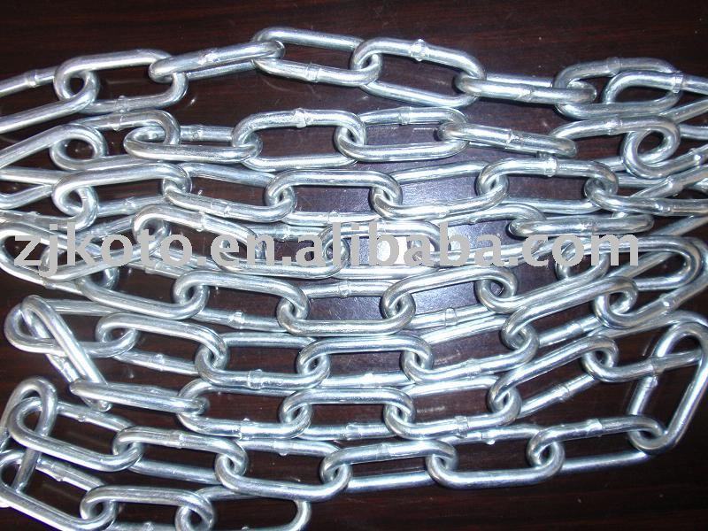 galvanized english standard link chain