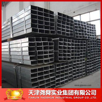 zinc coated square tubes hollow section china manufacture in alibaba