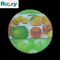 Qingdao Rocky high quality 4mm 5mm wholesale tempered glass cutting boards