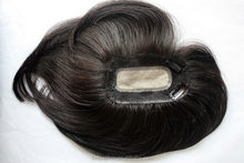 Raw unprocessed human hair wiglets , virgin human hair piece