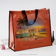 China Wholesale Custom Cheap Waterproof Recyclable Laminated PP Non Woven Shopping Bag