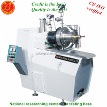 sand ball bead milling machine grinder solvent based paint bead mill