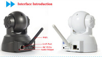 wireless wide angle outdoor ip camera