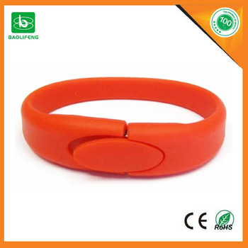 China alibaba usb flash drives bulk cheap bracelet usb flash drive