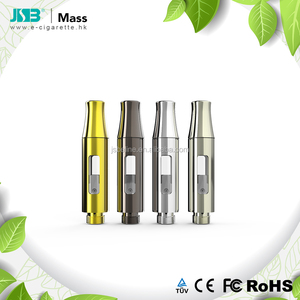 JSB ceramic oil cartridge Mass 0.5ml cbd oil vape cartridge 1 ml vape cartridge metal tip