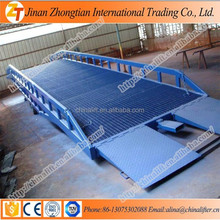 8ton capacity Portable Loading Ramps, Forklift Docks Ramp with low price