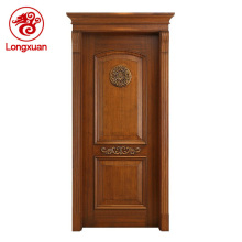 Indian old style villa entry teak wood main door designs