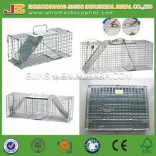 Zinc plated wire mesh hamster cage small animal cage