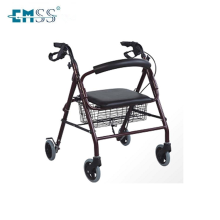 Light weight aluminum folding elderly walker Knee walker for elder