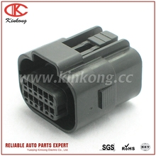 Kinkong New Products Patented 2016 Female Waterproof 12 Pin Automotive Wire Electric Connector