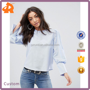 OEM light blue girls without blouse photos,latest blouse back designs in china