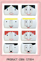 cute wall sticker for power plug