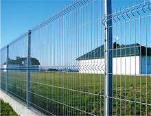 Welded Powder Painting Bridge Safety Mesh Fence