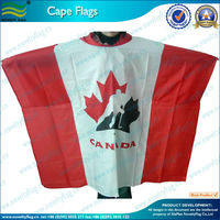 Cape Flags and Body Flags, Polyester Poncho with Waterproof (NF07F02011)