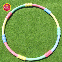Outdoor fitness equipment electric hula hoop