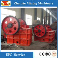 China leader manufacturer cast stell jaw crusher machine