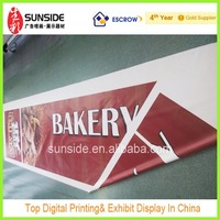 Hand Held Rolling Banner With Two Side Printing Image