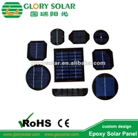 Mini Small 0.1W to 10W PET ETFE Glass Sunpower Monocrystaline Custom Solar Panel Factory From China