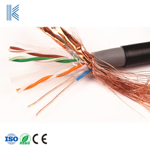 Cat6 outdoor cable with messenger wire pass flu ke Testing test