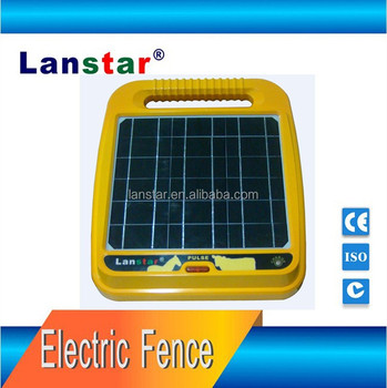 Poultry security electric fence solar energizer LX-6T03