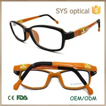 Top sale reflected tone kids reading glasses ,high-luminance color baby optical frame