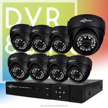 Vitevison low price 8ch CCTV camera system with 800TVL camera used in camera security system
