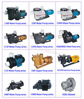 20years factory Anpow 1.0hp 1.5hp 2hp 3hp 5hp 7.5hp 15hp electric single/three phase water pump list swimming pool pumps