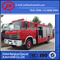 Dongfeng DFAC 4x2 4*2 4x4 4*4 military off road water tender foam fire engine fighting truck for sale 6000L JDF5150GXFPM60E