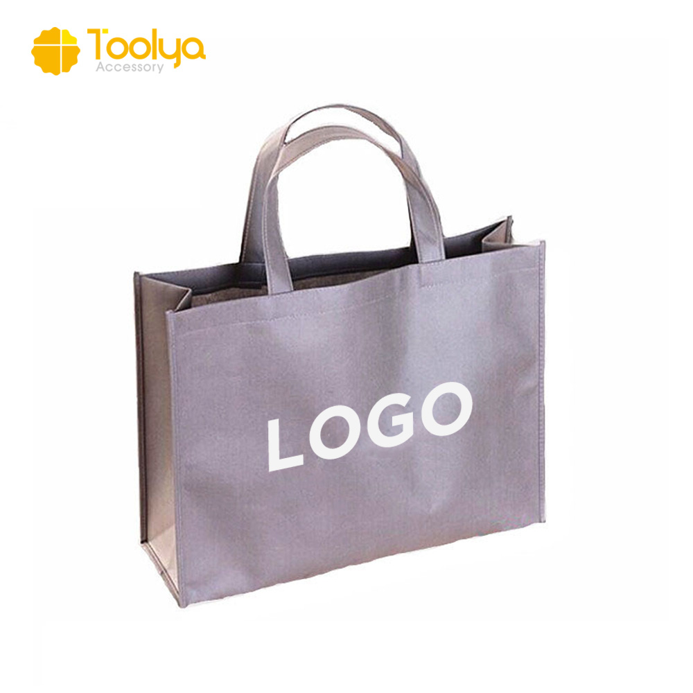 Factory wholesale customized recyclable non woven bag shopping tote bag