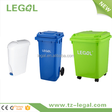 plastic container garbage bin mini office lady sanitary bin with pedal