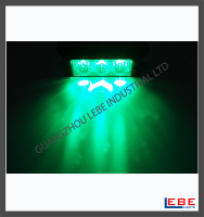 green led warning strobe light surface mount
