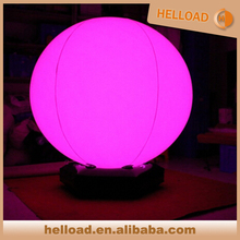 Inflatable led light waterproof floating ball for Night Pool Party